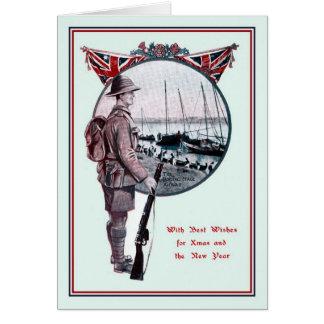British Military history Christmas Card