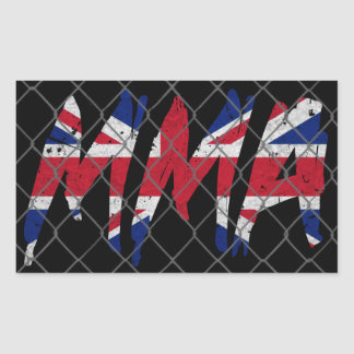 British MMA Sticker