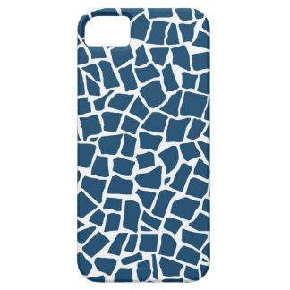 British Mosaic Navy and White iPhone 5 Cover