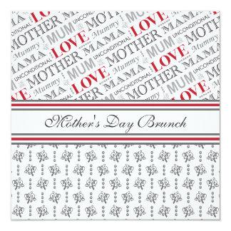 British Mum's Vintage Mother's Day or Birthday Card