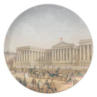 British Museum, c.1862 (litho del color) Platos
