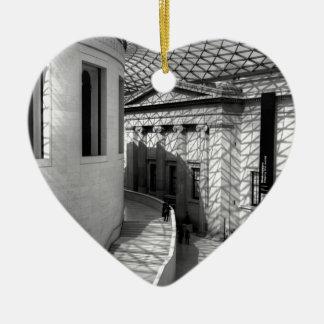 British Museum, Londres Adorno Navideño De Cerámica En Forma De Corazón