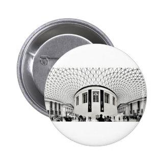 British Museum Pinback Button