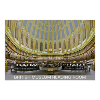 British Museum Reading Room England UK FROM 8.99 Poster