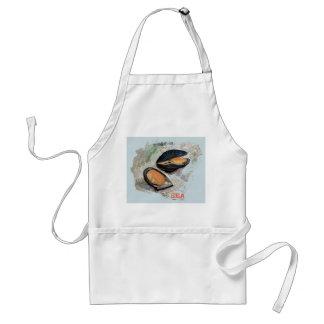 British mussels adult apron