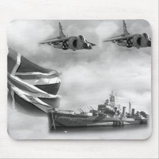 British Navy Commemorative Mouse Pad