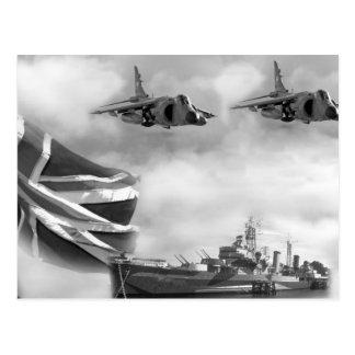 British Navy Commemorative Postcard