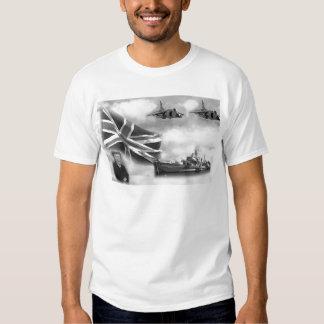 British Navy Commemorative T-Shirt