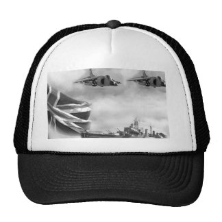 British Navy Commemorative Trucker Hat