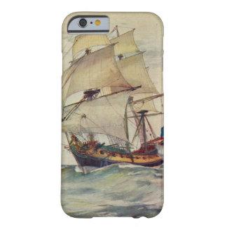 British Navy Ship iPhone 6/6s Vintage Phone Case