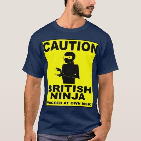 British Ninja T-shirt