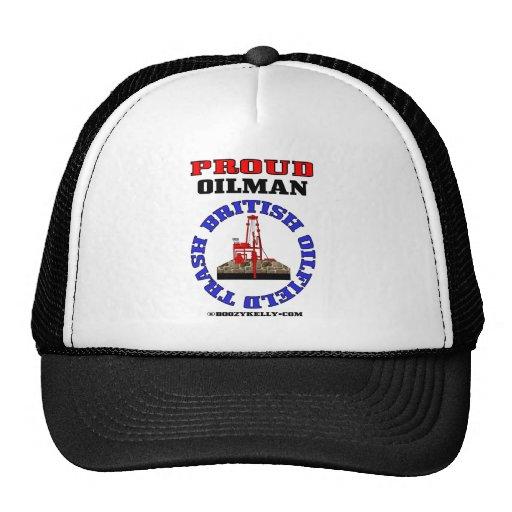 British Oil Field Trash,Oil Field Hat,Cap,Gift,Rig
