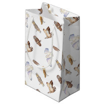 British owl species small gift bag
