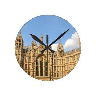 British Parliament Round Clock