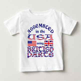 British Parts Front Baby T-Shirt