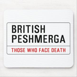 BRITISH PESHMERGA MOUSE PAD