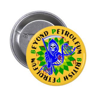 british petroleum blue plague pinback buttons