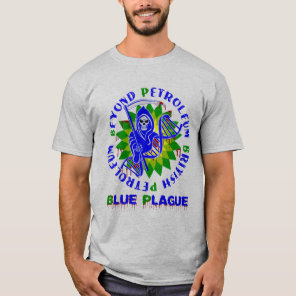 british petroleum blue plague T-Shirt