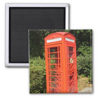 BRITISH PHONE BOOTH magnet