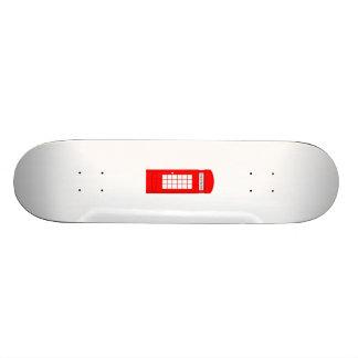 British Phone Booth Skateboard