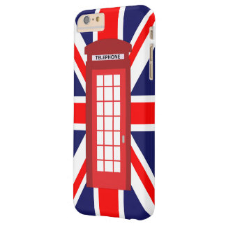 British phone box Union Jack flag Barely There iPhone 6 Plus Case