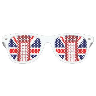 British phone box Union Jack flag Wayfarer Sunglasses