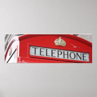 British Phone Poster