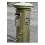 British pillar box - George VI Postcards