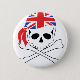 British Pirate Button