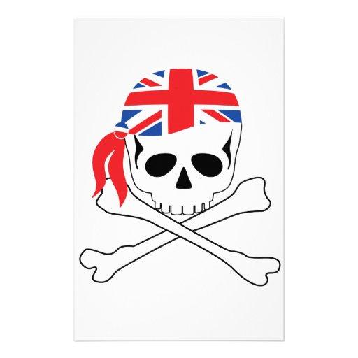 British Pirate Stationery