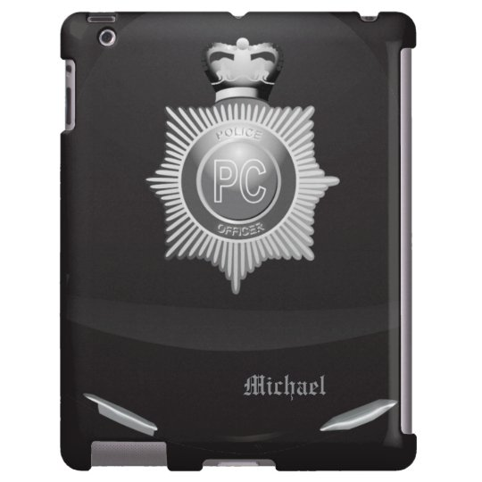 British Police Bobby Helmet iPad Case