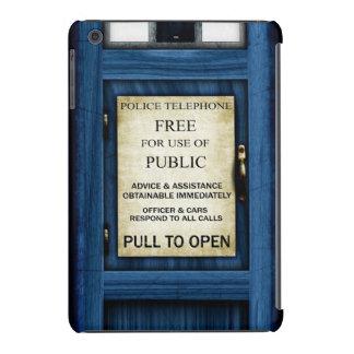 British Police Call Box Sign iPad Mini Case 2