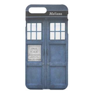 British Police Phone Call Box - Retro 1960s Style iPhone 7 Plus Case