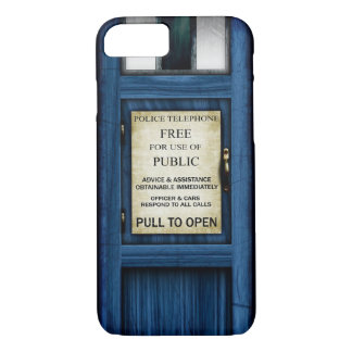 British Police Public Call Box iPhone 7 Case 2