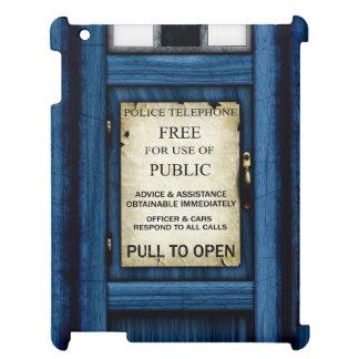 British Police Public Call Box Sign iPad Case