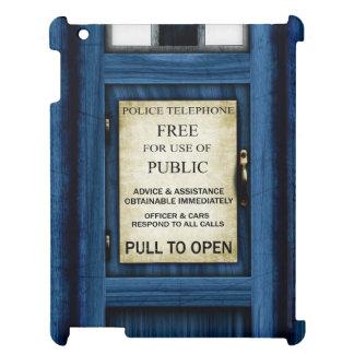 British Police Public Call Box Sign iPad Case 2