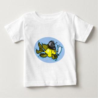 BRITISH POLICEMAN FISH funny BOBBY cartoon Tee Shirt