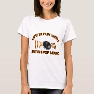 british pop music designs T-Shirt