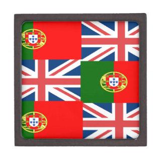 BRITISH-PORTUGUESE JEWELRY BOX