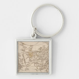 British possessions in America Keychain