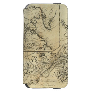 British Possessions in North America 2 iPhone 6/6s Wallet Case