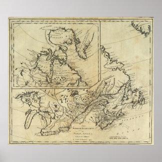 British Possessions in North America 2 Poster