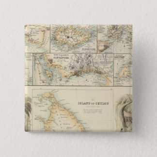 British Possessions in the Indian Seas Button