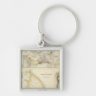 British Possessions in the Indian Seas Keychain