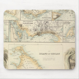 British Possessions in the Indian Seas Mouse Pad