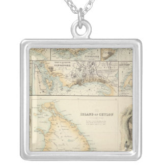 British Possessions in the Indian Seas Silver Plated Necklace