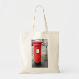 British Post Box Tote Bag