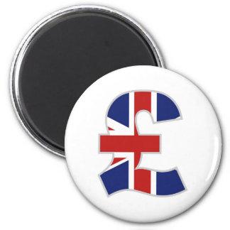 British Pound Magnet