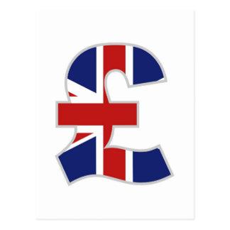 British Pound Postcard