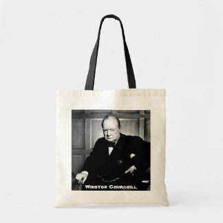 British Prime Minister Sir Winston Churchill Tote Bag